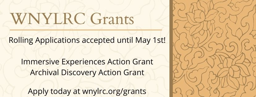 WNYLRC is accepting applications for our new rolling grants until May 1st!